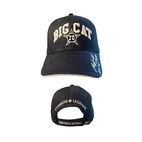 BIG CAT Rayfield Wright 3D Signature Cap