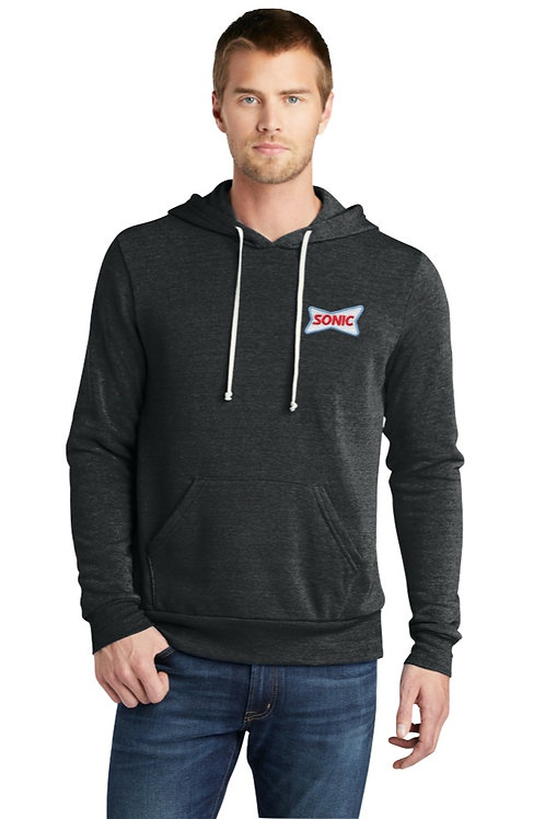 AA9595 ECO-FLEECE HOODED SWEATSHIRT