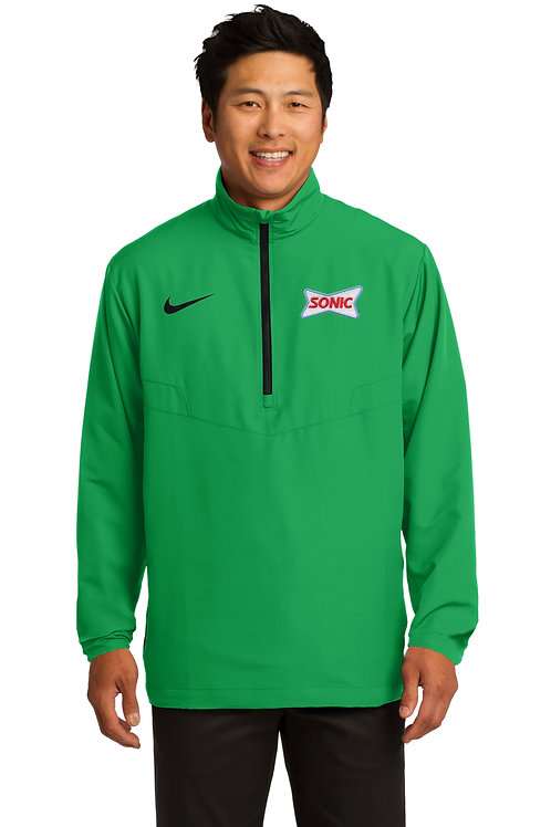 578675 NIKE DRI-FIT 1/2 ZIP WIND JACKET