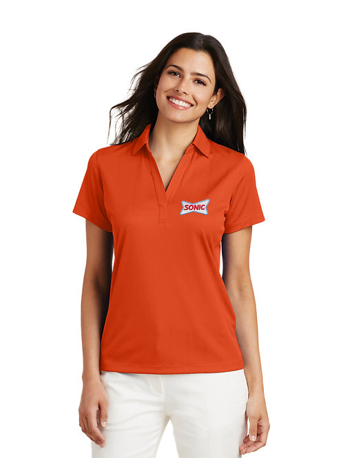 L528 PA LADIES PERFORMANCE PRO JACQUARD SONIC POLO