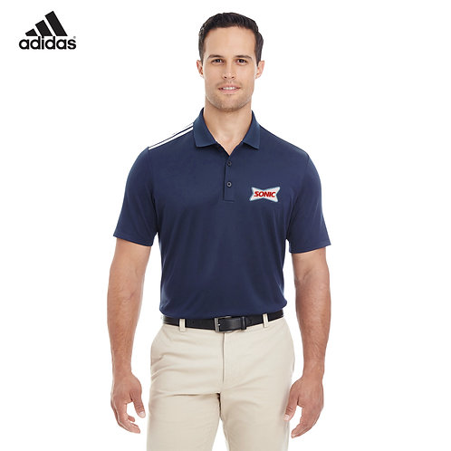 A233 ADIDAS CLIMACOOL 3-STRIPES SHOULDER SPORT POLO SHIRT