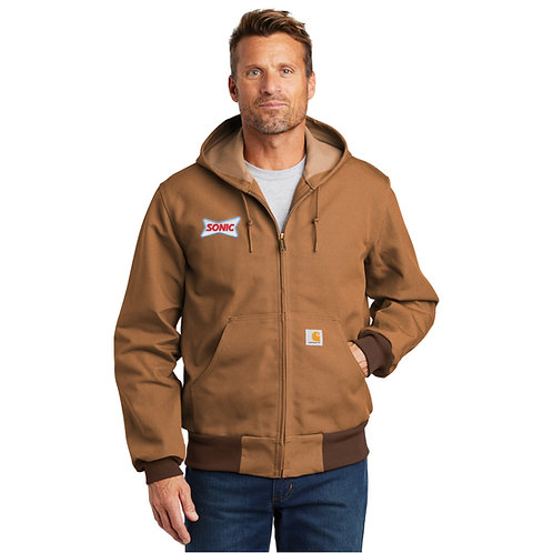CTJ131 CARHARTT® THERMAL LINED DUCK ACTIVE JAC