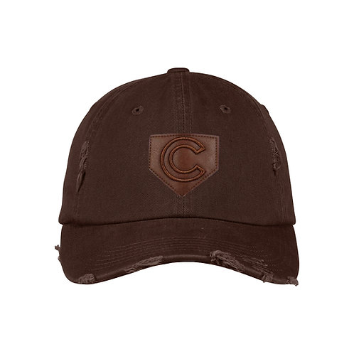 DP8860 DISTRESSED/RIPPED COTTON CAP