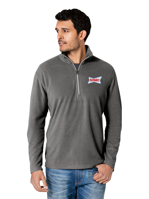 F224 MICRO FLEECE 1/2 ZIP JACKET