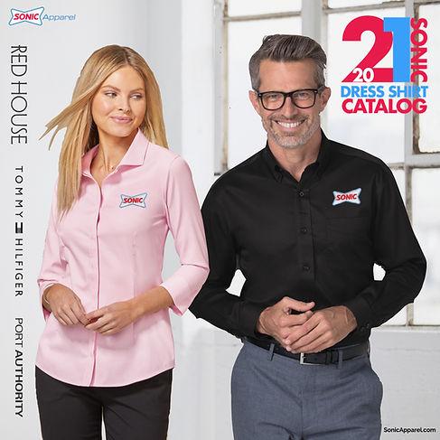 2021 SONIC DRESS SHIRTS CATALOG COVER.00