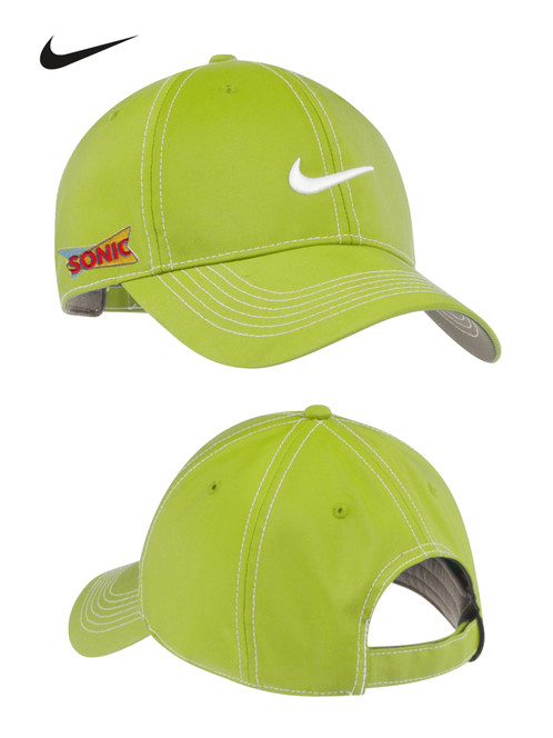 0ab171565e3 The contrast Swoosh design trademark takes front and center on this  unstructured