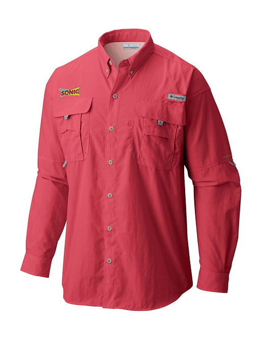 1011622 2 MENS BIG PFG BAHAMA II LONG SLEEVE SHIRT