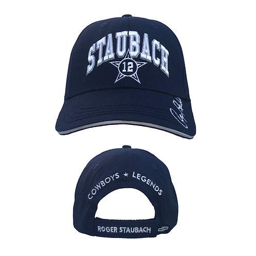 Roger Staubach 3D Signature Cap