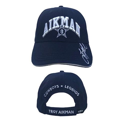 Troy Aikman 3D Signature Cap