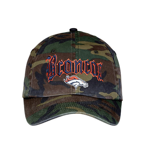DP8851 CAMO WASHED COTTON CAP