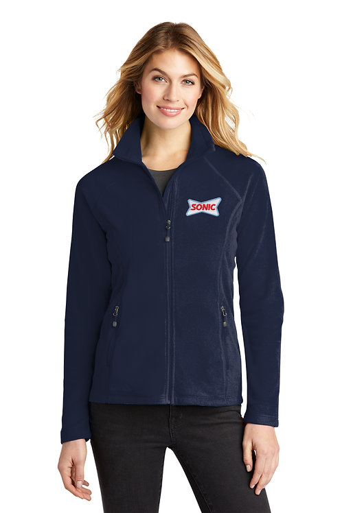 EB225 LADIES MICROFLEECE FULL ZIP JACKET
