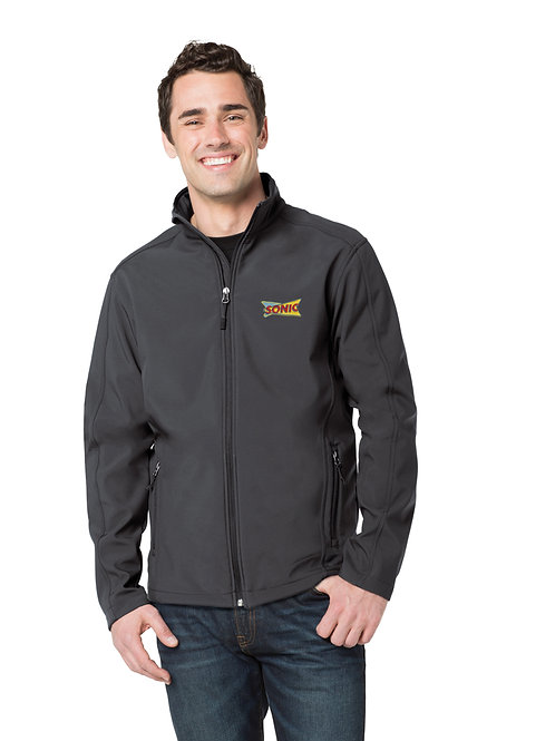 TLJ317 TALL FULL ZIP SOFTSHELL JACKET
