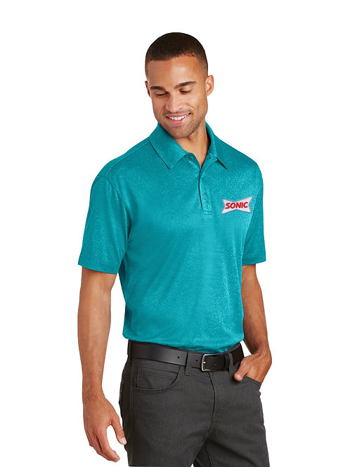K576 PA PERFORMANCE TRACE HEATHER SONIC POLO