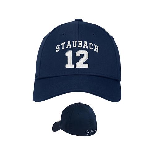 Roger Staubach Arch Block Signature Cap