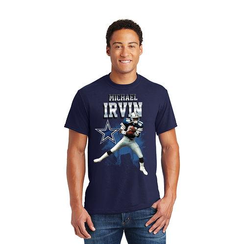 Michael Irvin Mens Solo Graphic T-Shirt