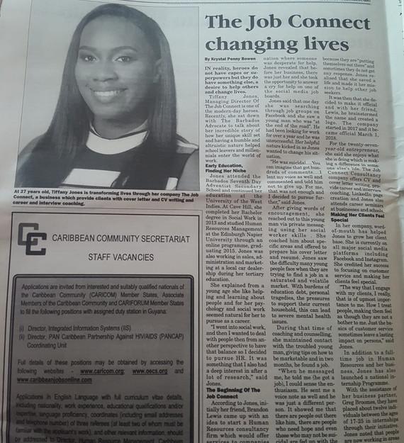 Barbados Advocate Feature