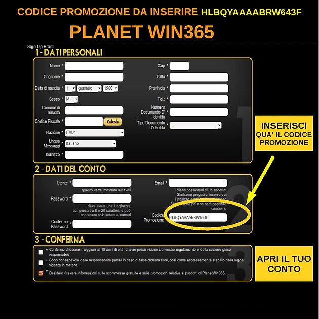 planetwin365 | SCOMMESSE
