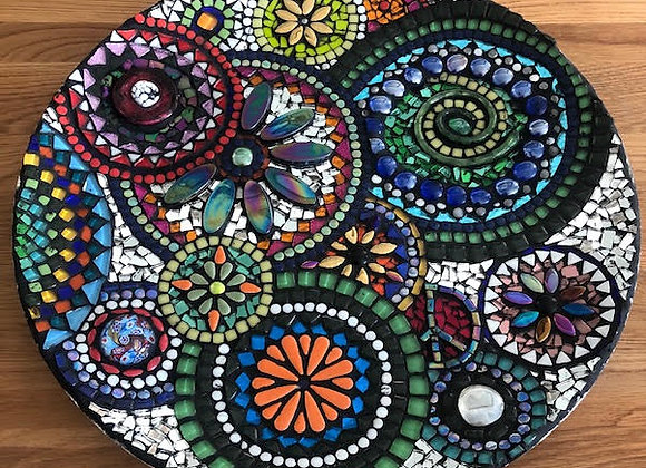 Decorative Mosaic Plate