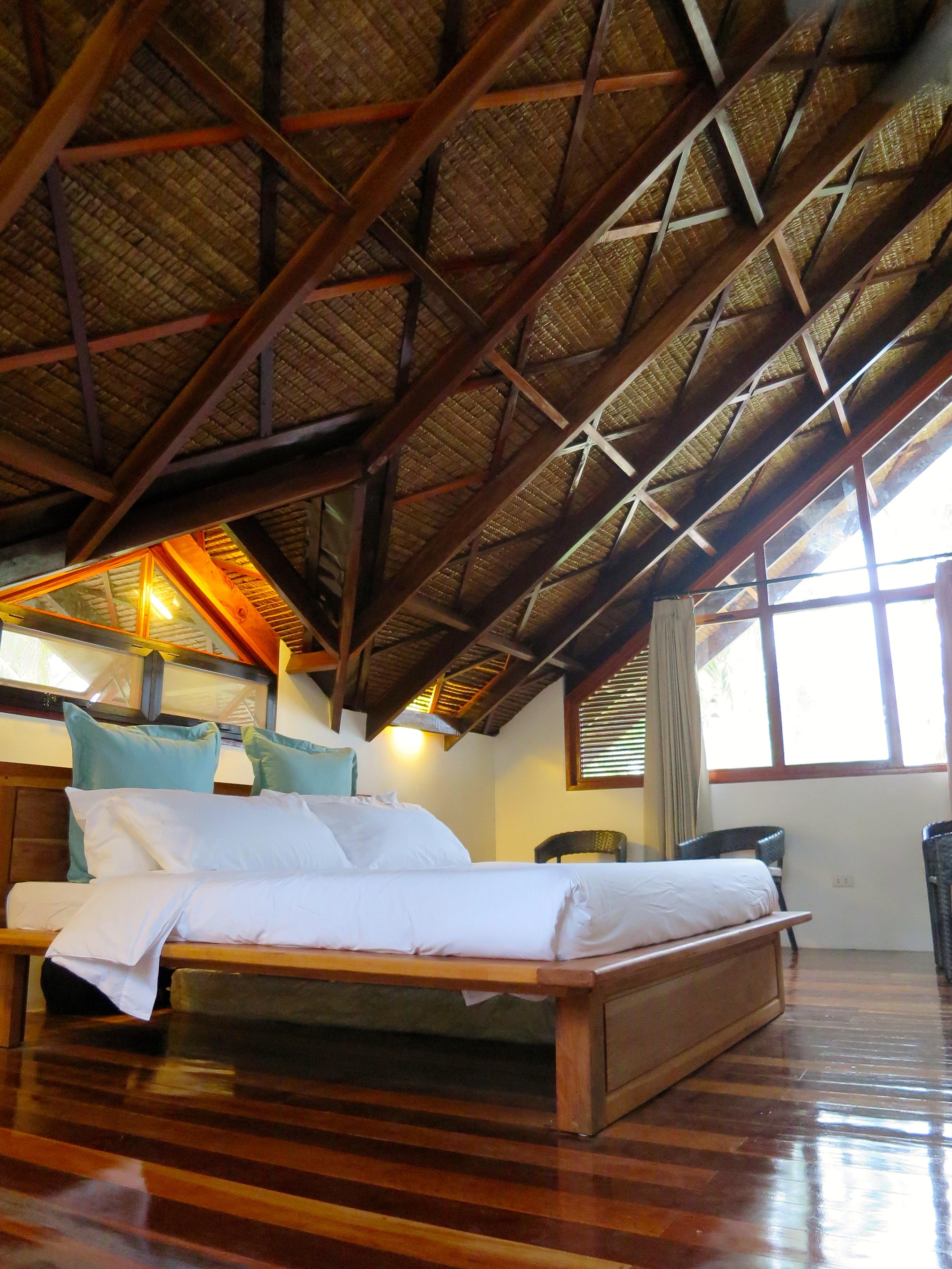 Family loft villa bedroom