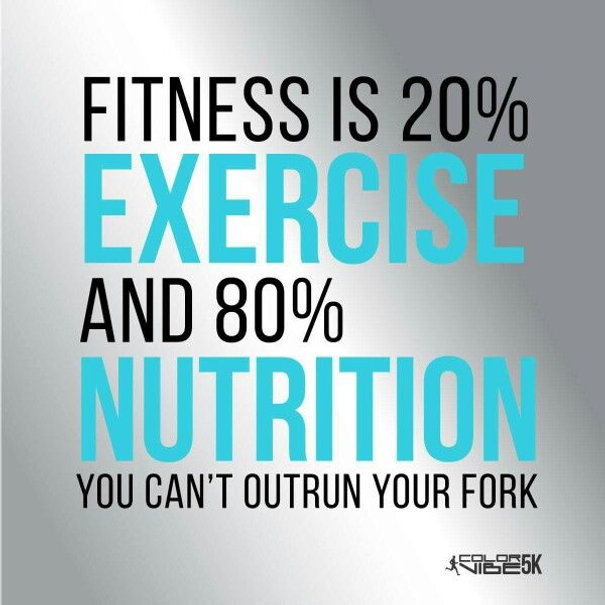 You Can Try To Outrun It But Youll Lose >> You Can T Out Run Your Fork Can You Boot Camp Fitness Gym