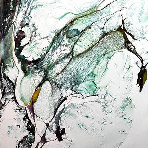 """""""First Second (Water) ,2018 (SOLD)"""