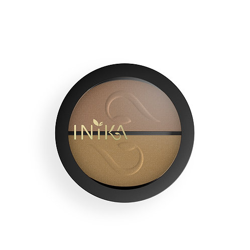 Pressed Mineral Eye Shadow Duo (Gold Oyster)