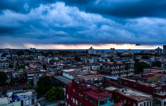 storm over Havana