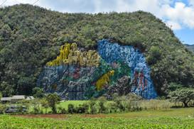 Mural de la Prehistoria, Vinales Valley
