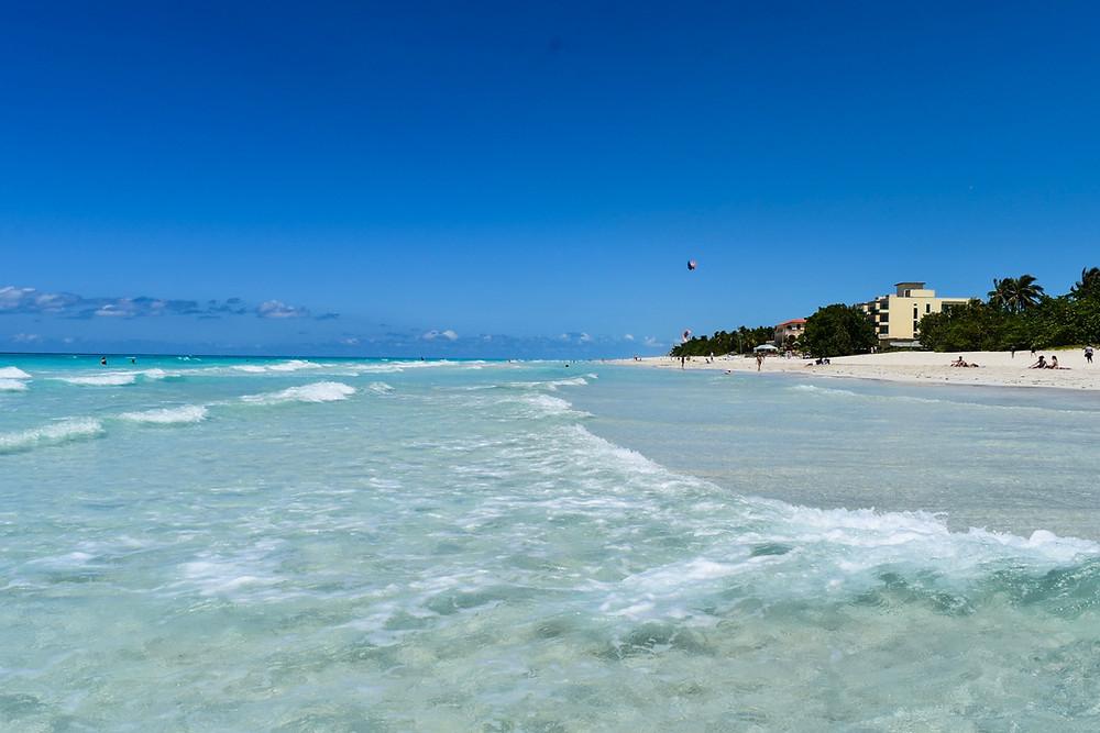 Varadero, cuba, beach and clear water
