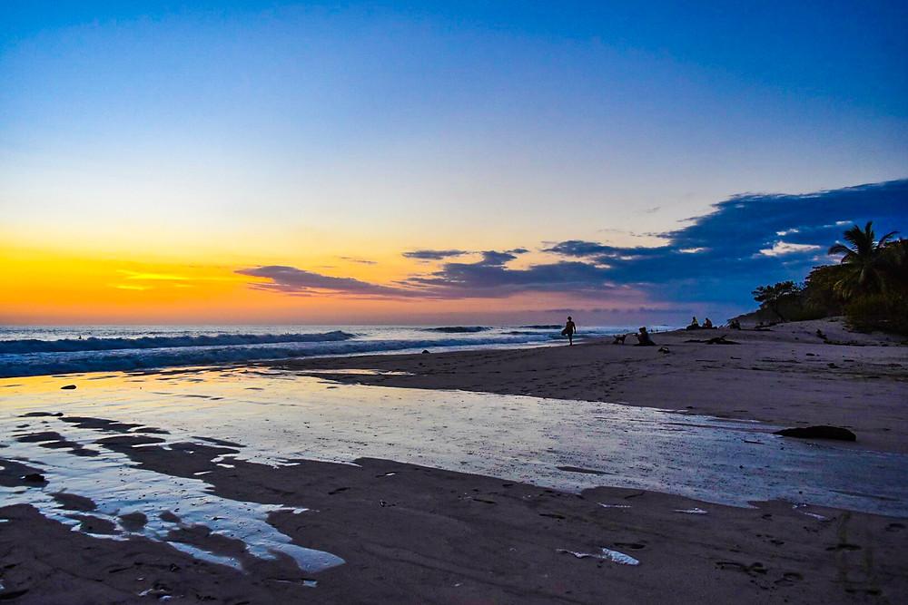 sunset in Santa Teresa