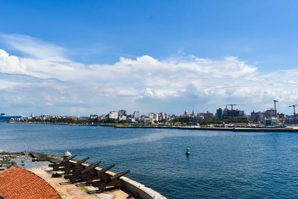 View from Morro Castle, Havana