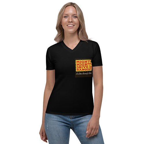 The Mighty Mighty Drive-In Hangout Women's V-neck