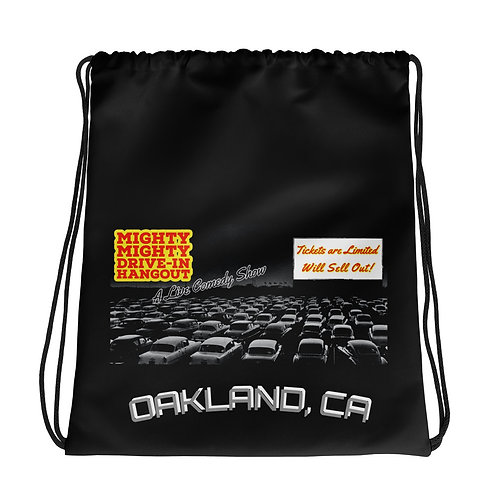 The Mighty Mighty Drive-In Hangout Drawstring bag