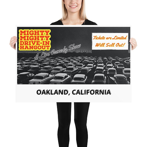 The Mighty Mighty Drive-In Hangout Show Poster
