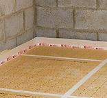 chape liquide sur isolant thermique