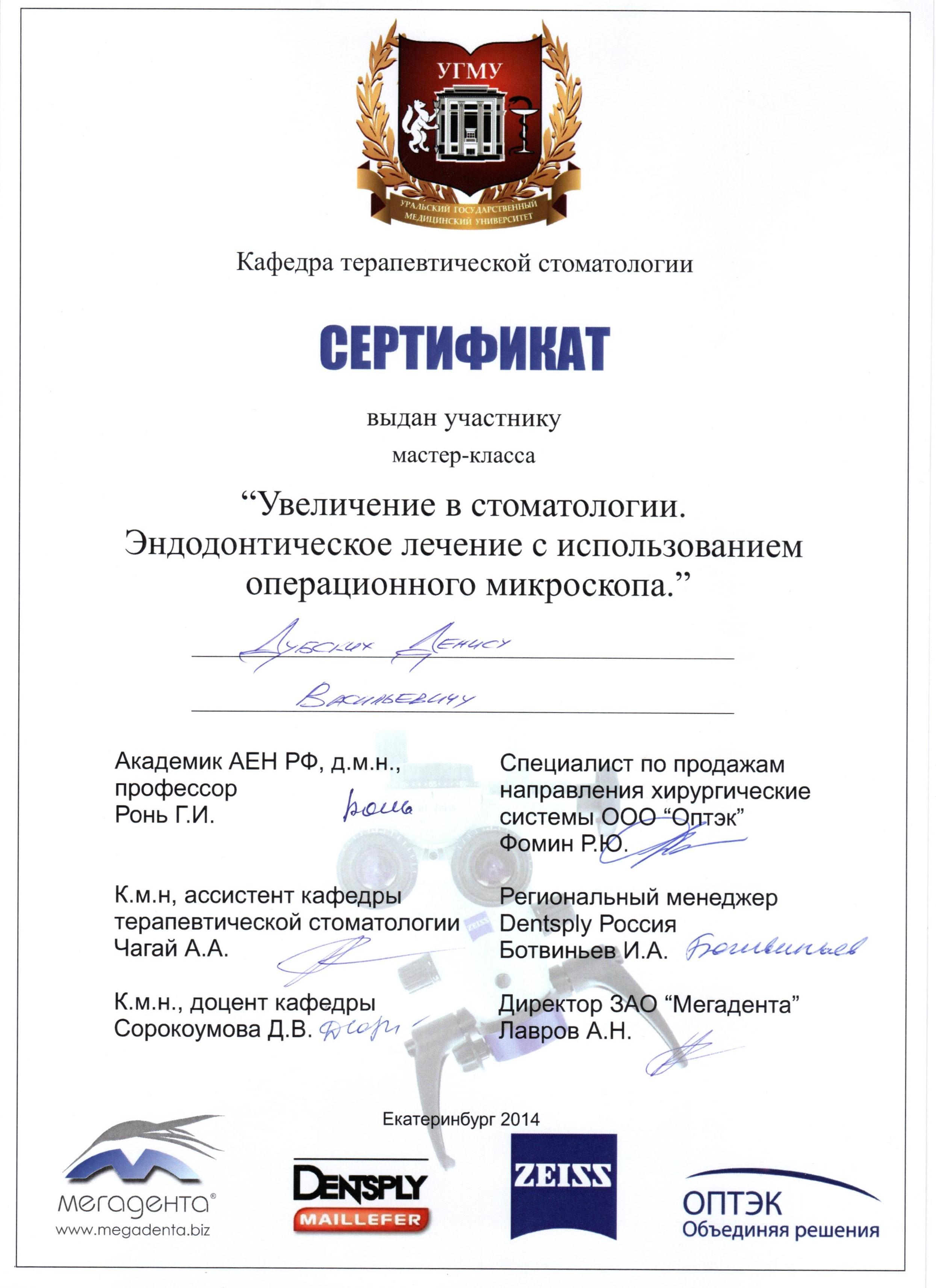 Дубских Денис Васильевич
