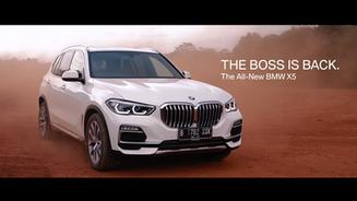 BMW X5 Video launch - director's cut