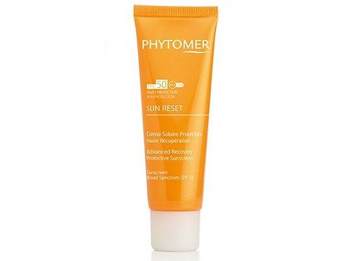 Sun Reset Crème Solaire Protectrice Haute Récupération SPF50