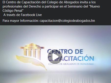 Atención! El Centro de Capacitación del Colegio de Abogados invita a los profesionales del Derecho