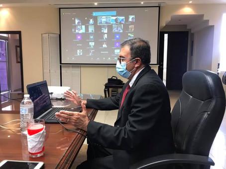 El Colegio de Abogados de Honduras junto al Consejo Nacional Electoral realizaron la capacitación pa