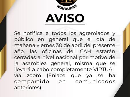 📌📌Tomar nota e invitados/as a la Asamblea General Ordinaria 📝