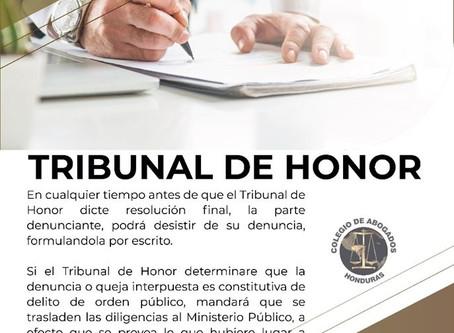 En cualquier tiempo, el denunciante podrá por escrito desistir de su denuncia antes de que el Tribun