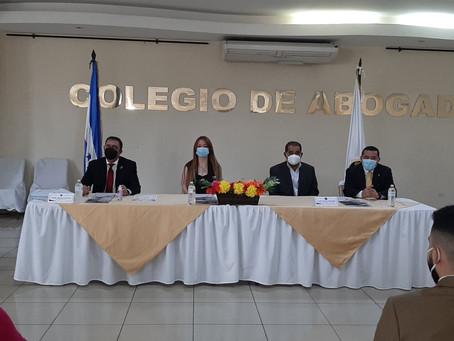 Acto de juramentación de incorporación de nuevos procuradores y nuevos miembros en Sede Central del