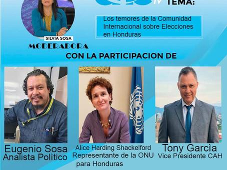 El Abogado Tony García, Vice Presidente del Colegio de Abogados de Honduras estará mañana en el foro