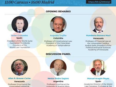 Invitados/as a la opening session que se llevará a cabo el próximo 11 de marzo en Caracas, Venezuela