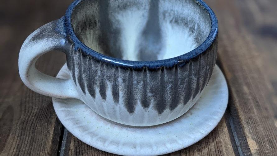 """Cup with saucer """"eris"""""""