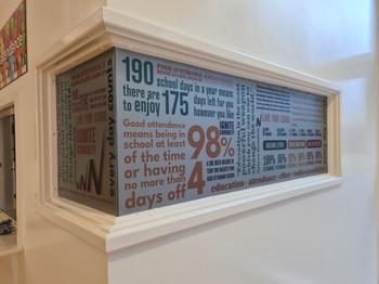 Printed window graphics