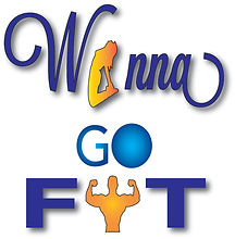 Wanna go fit logo