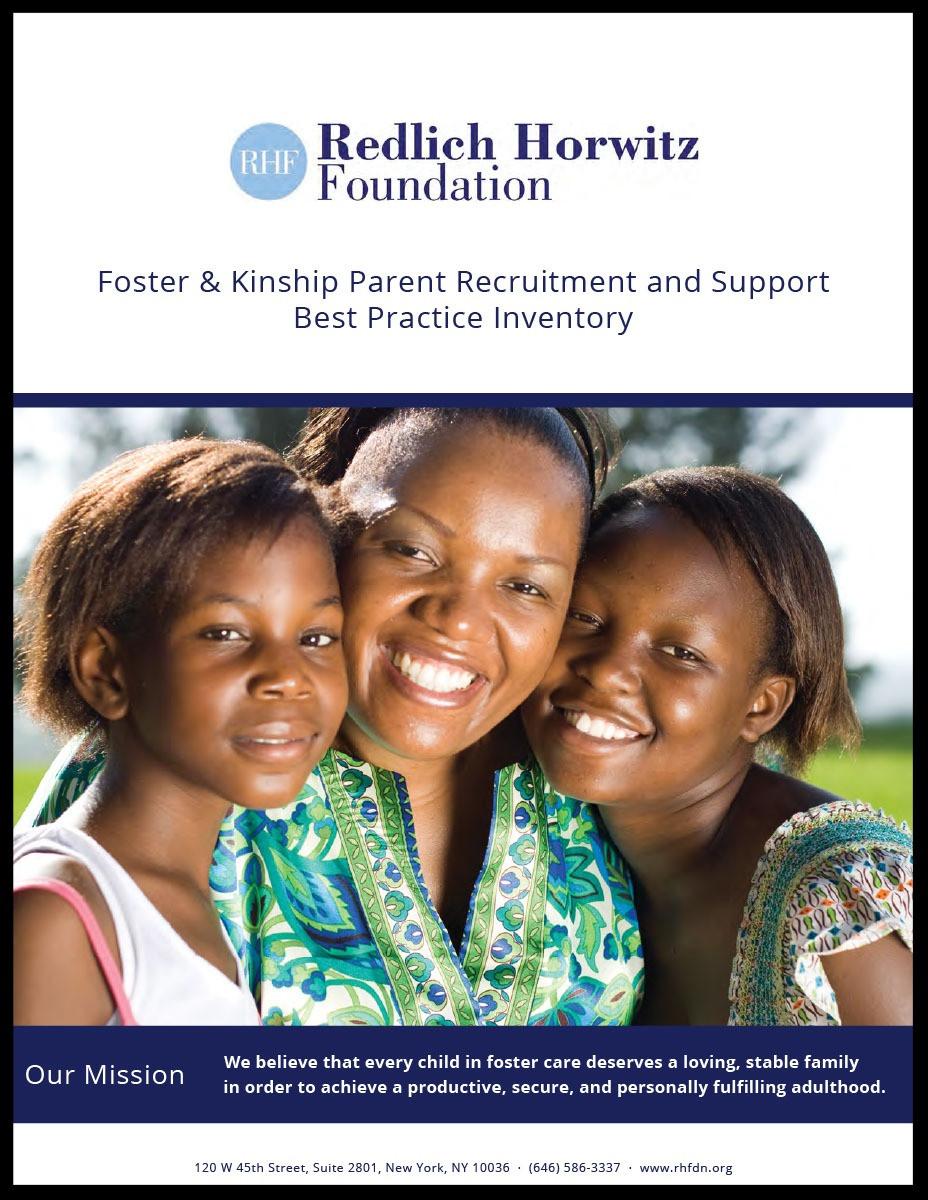 Redlich Horwitz Foundation - Foster & Kinship Parent Recruitment and Support Best Practice Inventory