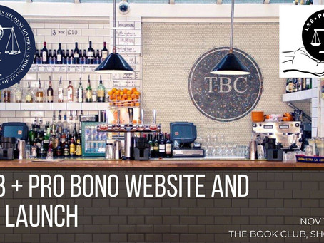 LWOB + Pro Bono Website and Blog Launch Drinks
